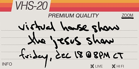 Derek Webb Virtual House Show - the Jesus show tickets