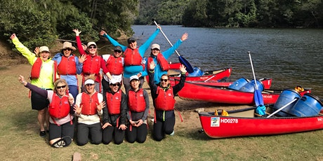 Women's Overnight Canoe Trip: Shoalhaven Gorge 13th - 14th Feb 2021 tickets