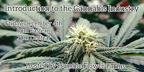 Introduction to the Cannabis Industry tickets