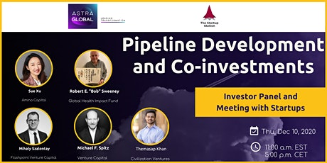 Pipeline Development and Co-investments. Panel Discussion/Investor Meetings tickets