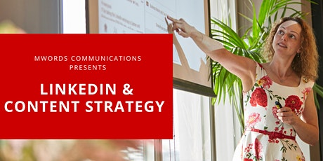 LIVE ONLINE Masterclass - LinkedIn & Content Strategy tickets