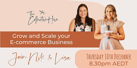 Grow & Scale your Ecommerce Business tickets