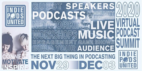 Copy of Indie Pods United Virtual Summit tickets