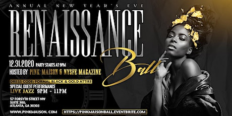 Pink Maison & NYSFE Magazine Annual New Year's Eve Renaissance Ball tickets