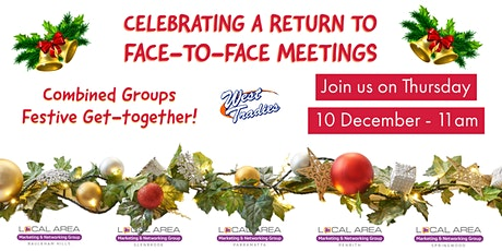 Local Area Marketing & Networking Group - Christmas get-together tickets