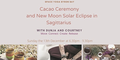 Cacao Ceremony and New Moon Solar Eclipse in Sagittarius tickets
