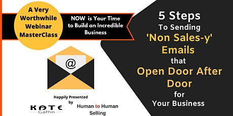 Free Webinar :Win Endless Meetings and New Business w/Cold Email tickets