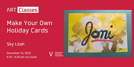 Make Your Own Holiday Cards tickets