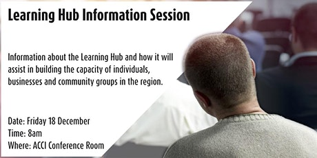 ACCI Learning Hub Information Session tickets
