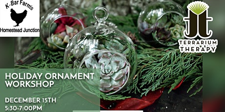 Holiday Ornament Workshop tickets
