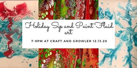 Holiday Sip & Paint tickets