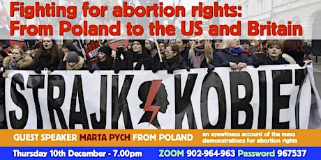 Fighting for abortion rights: From Poland to the US and Britain tickets