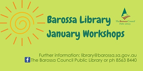 January Workshop - Woodwork at Nuriootpa tickets