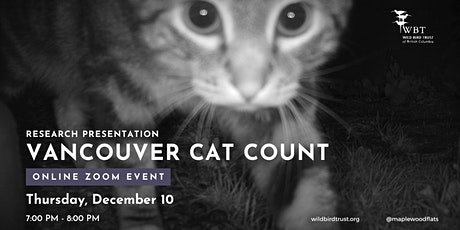Vancouver Cat Count - Research Presentation tickets
