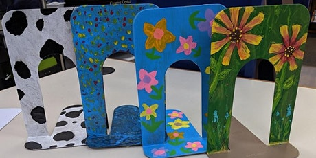 School Holidays Activities - Decorate Book Ends tickets