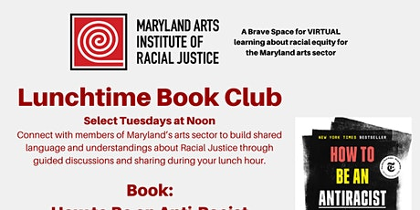 Maryland Arts Institute of Racial Justice Book Club - Winter 2021 ingressos