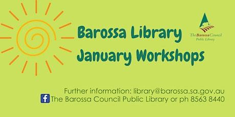 January Workshop - Gratitude Journals at Nuriootpa tickets