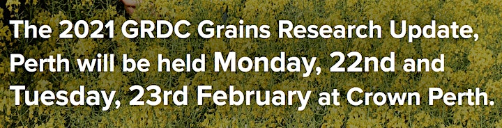 2021 GRDC Grains Research Update Perth image