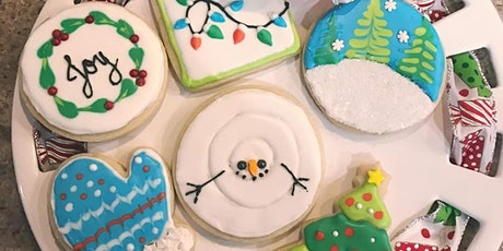 Holly Jolly Christmas Cookies! Beginner Level Cookie Decorating Class tickets