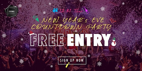 NYE Countdown Party [ANIME JAM] FREE Entry before 12:30AM tickets