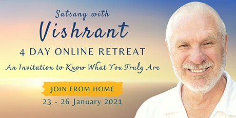 4 Day Online Satsang Retreat with Vishrant tickets