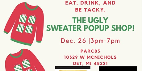 Ugly Sweater Pop Up Shop tickets