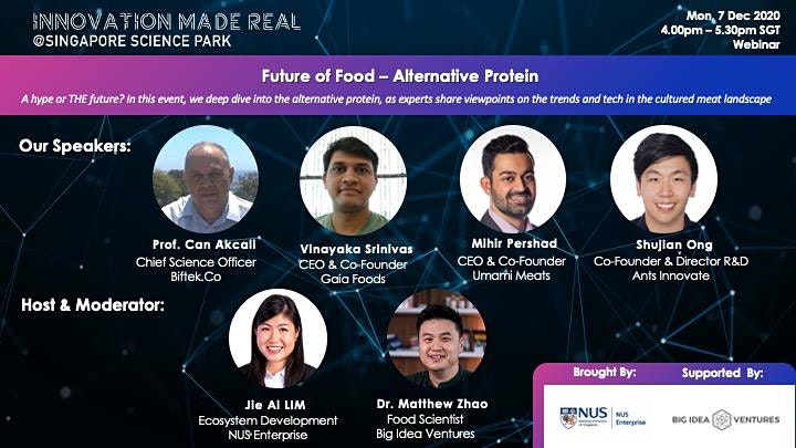 Innovation Made Real: Alternative Protein - Future of Food (Cultured Meat) image