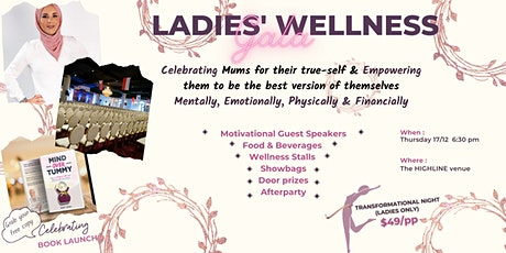 Ladies'  Wellness Gala tickets