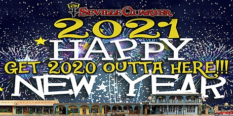 2021 New Year's Eve Celebration  at Seville Quarter tickets