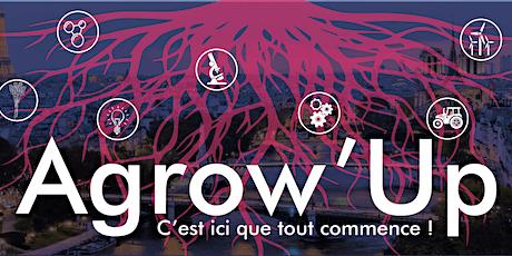 1er webinaire d'Agrow'up : les principales étapes de l'entreprenariat  billets