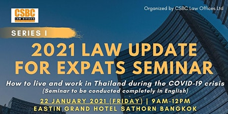 2021 Thai legal update for expats in Thailand tickets