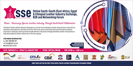 SOUTH - SOUTH LEATHER INDUSTRY EXCHANGE entradas