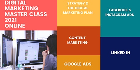 The 8th Digital Marketing Master Class 2021 tickets