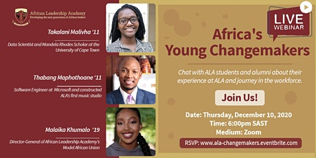 Africa's Young Changemakers tickets