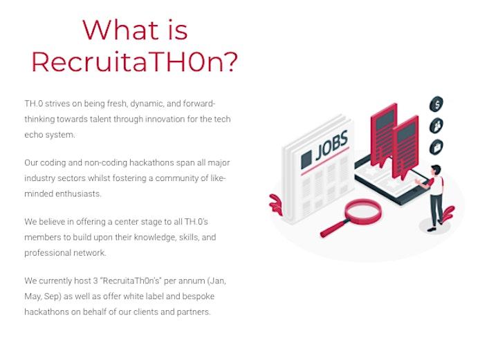 RecruitaTH.0n (Jan) 2021 – Virtual Hackathon image