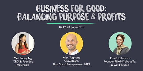 Panel Event - Business For Good: Balancing Purpose & Profits tickets