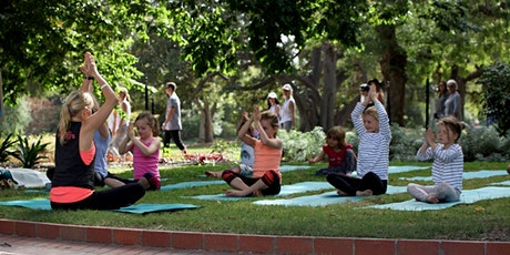 Family Meditation with Little Warriors Yoga tickets