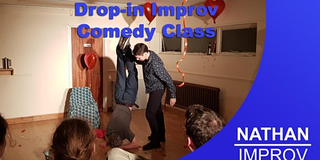 Aus/NZ time: Weekly Drop-in Improv Comedy Class (Online Class) tickets