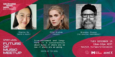 Future of Music #8: State of Play with Cherie Hu, Woodes & Brandon Stosuy tickets