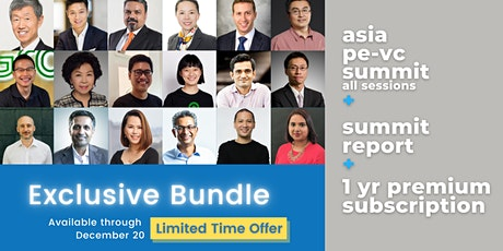 Virtual | Asia PE-VC Summit 2020 (POST_EVENT PROMOTION) Tickets