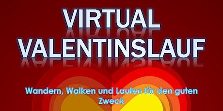 Valentinslauf 2021 - Virtual Run für den guten Zweck Tickets