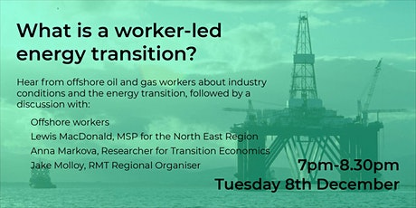 What is a worker-led energy transition? tickets