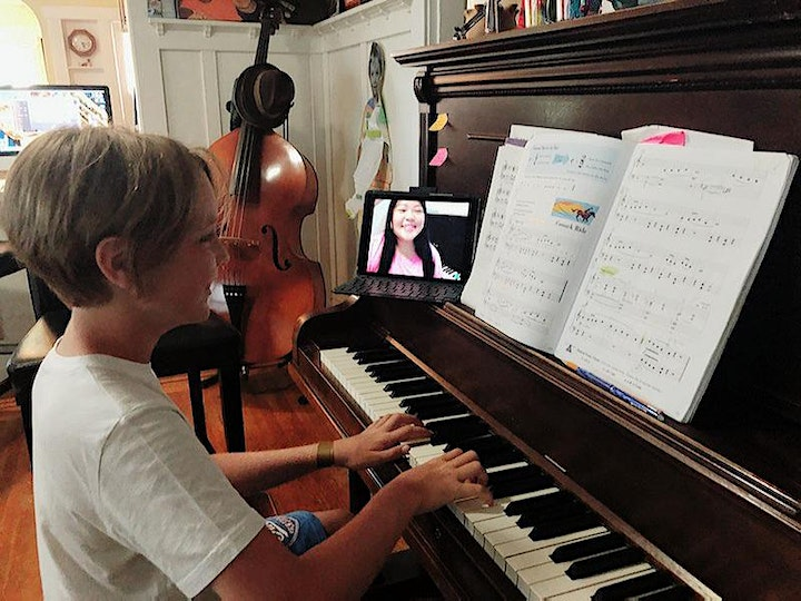 FREE Virtual Piano Party for Kids: An introduction to group piano lessons! image