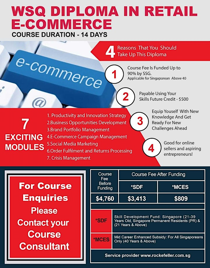 WSQ Diploma in Retail e-Commerce (Omni-Channel) image