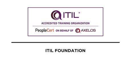 ITIL Foundation 4 tickets