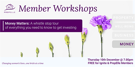 Money Workshop | Ladies Finance Club UK - An introduction to investing tickets