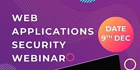 Web Applications Security Webinar tickets