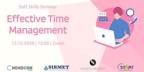 Soft Skills Seminar | Effective Time Management tickets