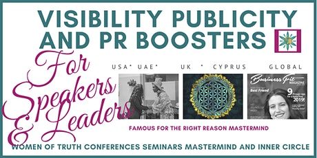 Increase Your Visibility - Publicity and PR Opportunities tickets