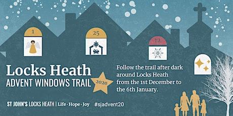Locks Heath Advent Windows Trail 2020 tickets